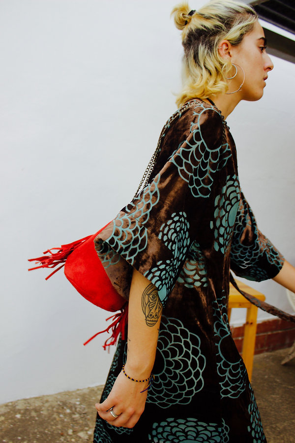 JULIA KOO, kimono, wrap, dress, spain