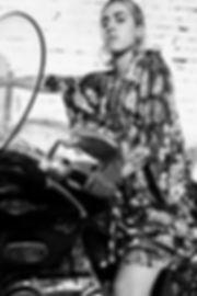 JULIA KOO, kimono, kaftan, dress, silk, spain