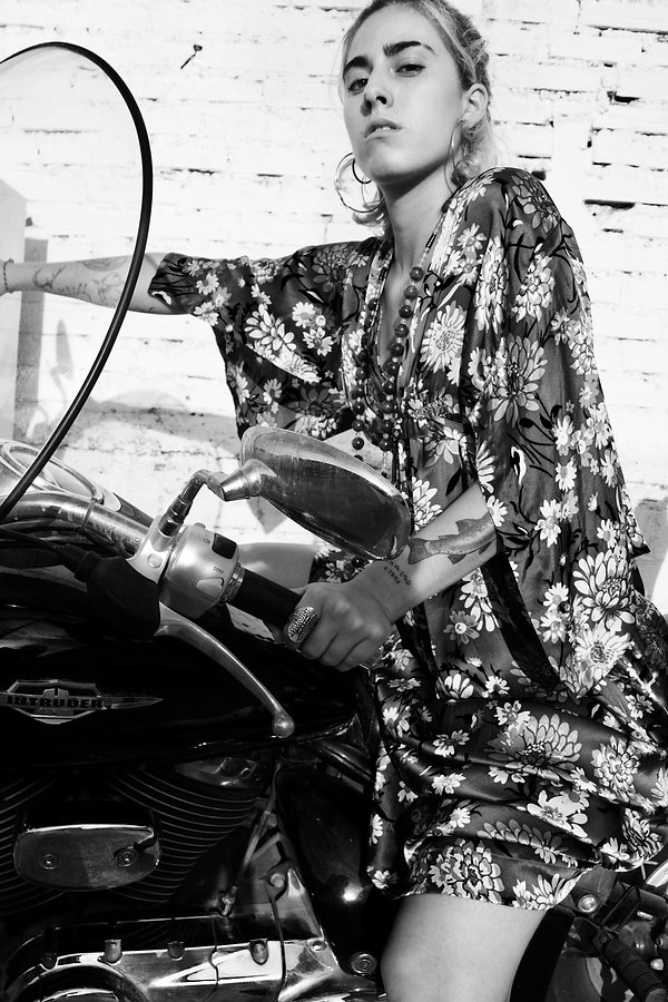 JULIA KOO, kimono, kaftan, dress, silk, spain