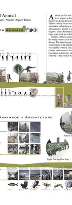 Kinematic Design Study / Master's Degree Thesis /  Taiwan / 2005
