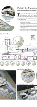 East Mountain Drive Residence /  Montecito / CA / 2014