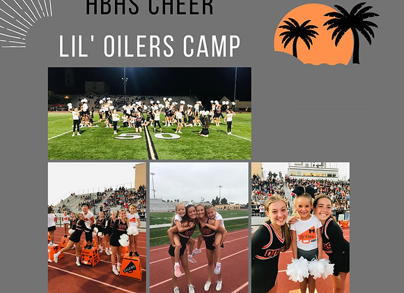 Lil' Oilers Cheer Camp