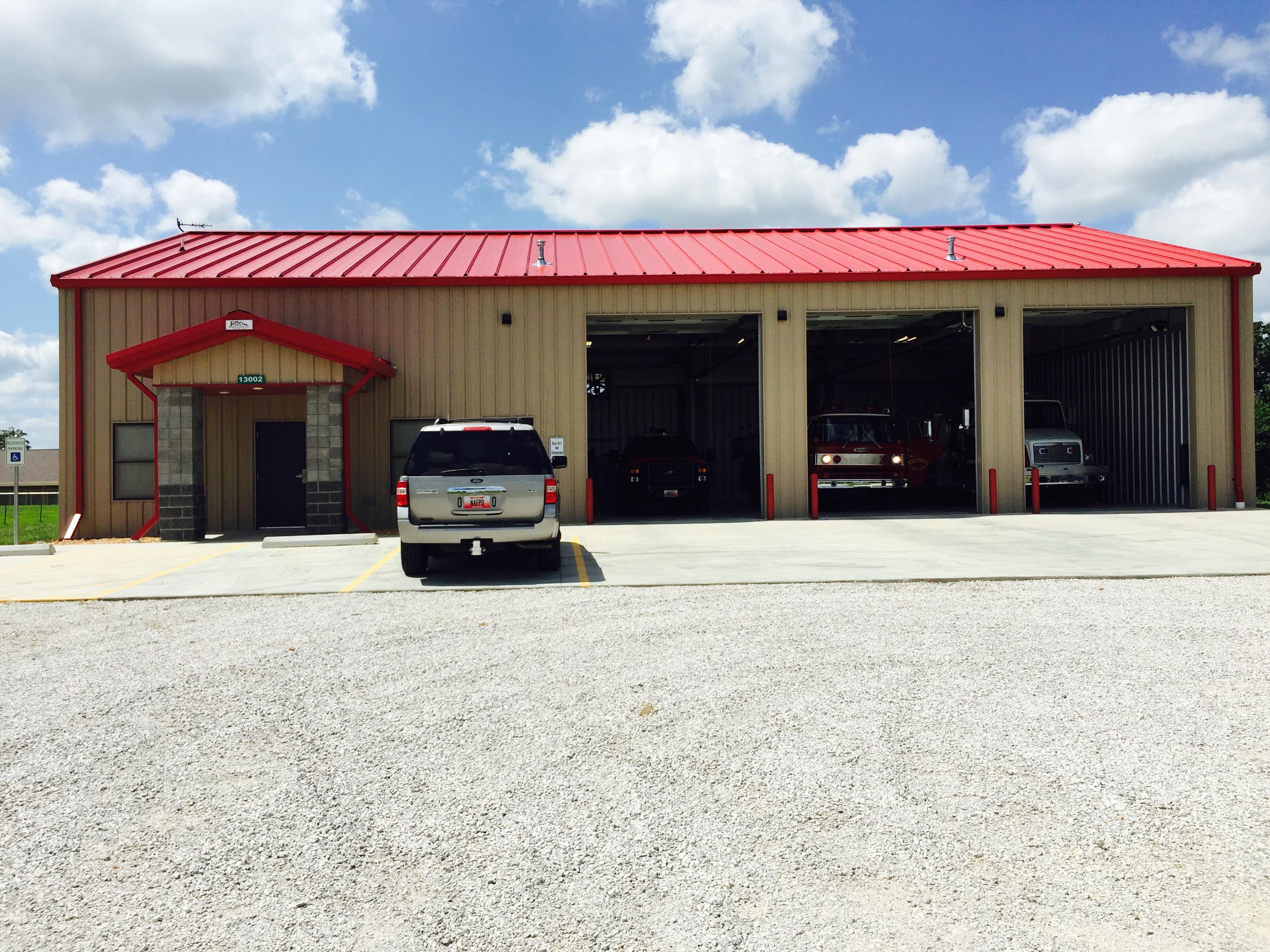 Pinnacle Buildings-firestation Anderson, Missouri