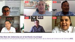 ALCALDES DE MUNICIPIOS CON AVGM SE COMPROMETEN A IMPLEMENTAR CENTROS DE ATENCIÓN EXTERNA