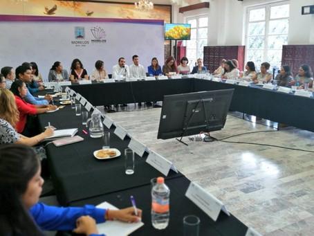 Reunión de trabajo con municipios con AVG