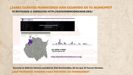 Mapa de feminicidios