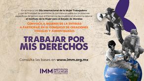 """Lanza IMM convocatoria """"Trabajar por nuestros derechos"""""""