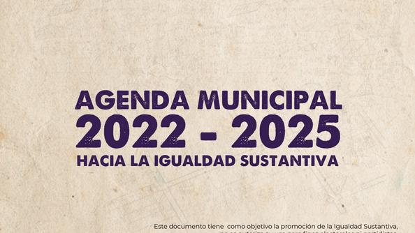 Agenda Municipal 2022- 2025