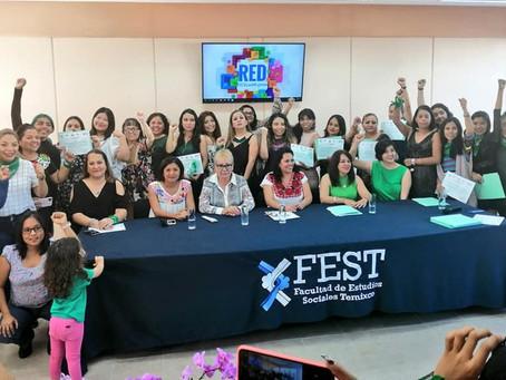 Clausura: Diplomado Feminismo y fortalecimiento de liderazgos para ejercicio de los derechos humanos