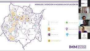 REALIZA IMM REUNIÓN DE TRABAJO VIRTUAL CON DIRECTORAS DE LAS INSTANCIAS MUNICIPALES DE LAS MUJERES