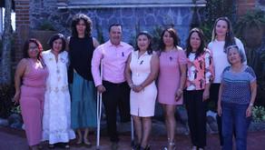 La Maestra Andrea Medina Rosas impartió una ponencia sobre violencia de género contra las mujeres.
