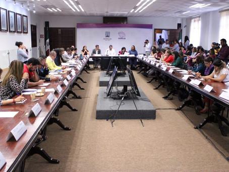 Trigésima séptima sesión del #SEPASE, presidida por el Secretario de Gobierno Pablo Ojeda Cárdenas.