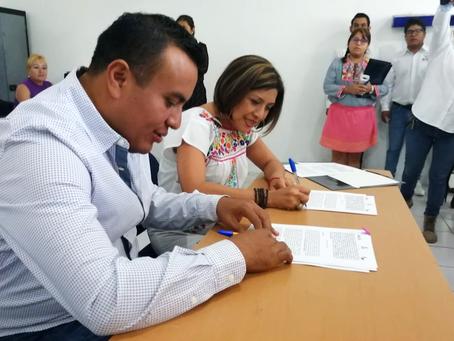IMM firma convenios de colaboración con municipios