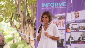 Presenta IMM Informe 2018 - 2021 en el municipio de Jojutla.