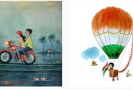 Top Indian Digital illustrators to follow on instagram