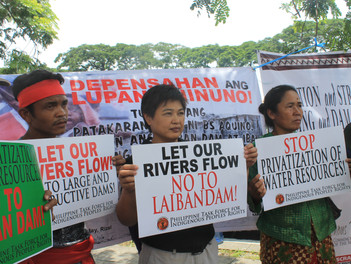 PNFSP joins groups of Indigenous People in lobbying; Opposes the construction of the Jalaur River Mu