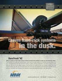 Array Technologies Print Ad