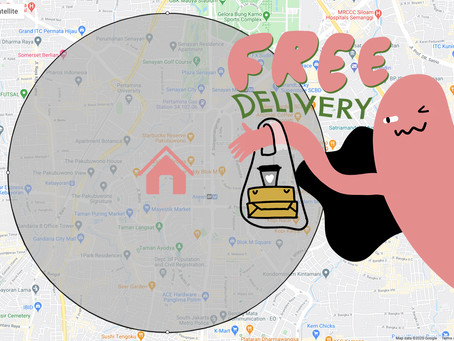 FREE DELIVERY? YES!