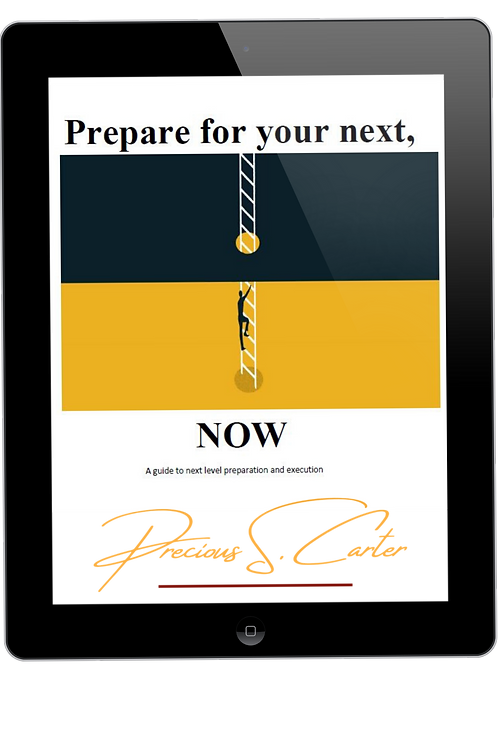 Prepare for your Next, NOW workbook
