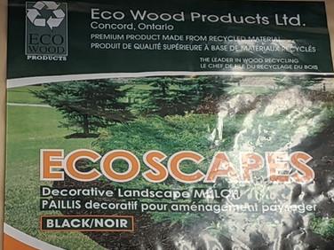 Eco Wood Woodchip - Black