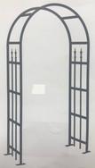 Victorian Arch Arbour - Black