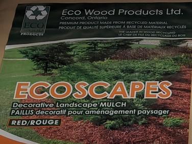 Eco Wood Woodchip - Red