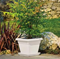 Krea Square Pot - Charcoal