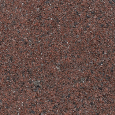 Exposed Aggregate - Kingston Red