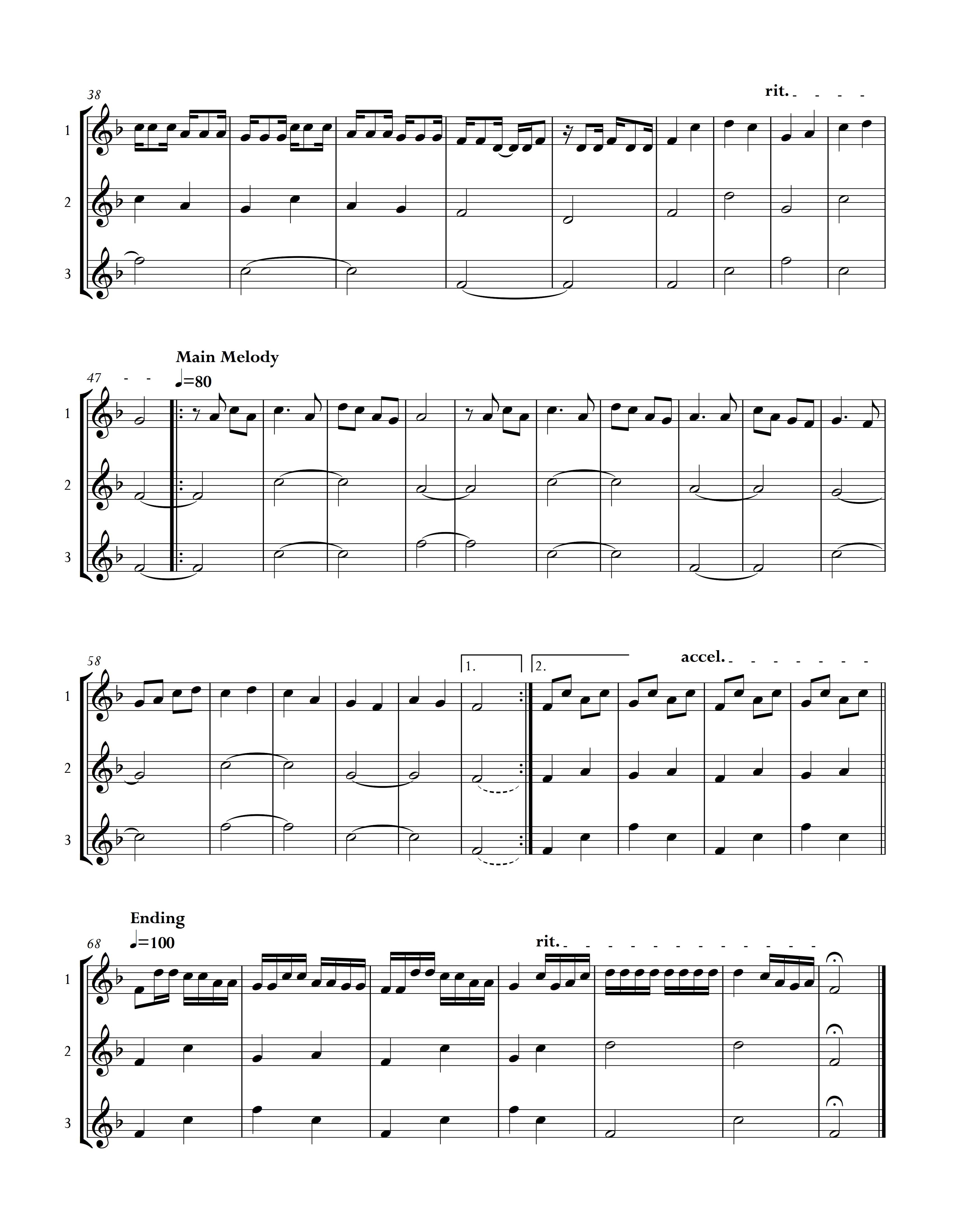 Meong-Meong Instrumental Arrangement