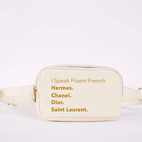 Franny Fanny- Fluent French (Cream)