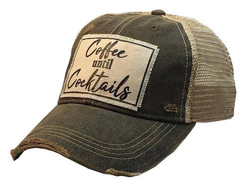 Coffee Until Cocktails Cap