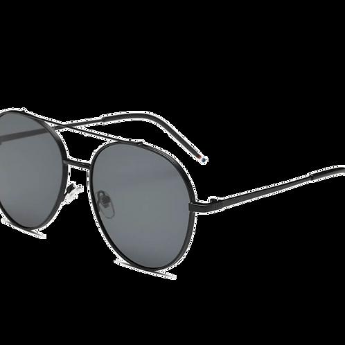 Classic Mirrored Lens Aviator Sunglasses