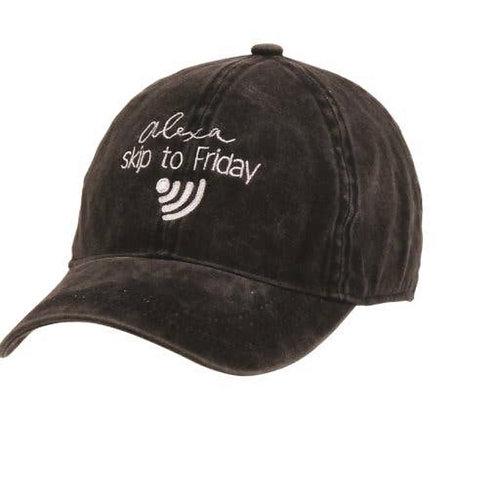 """""""Alexa Skip to Friday"""" Hat"""