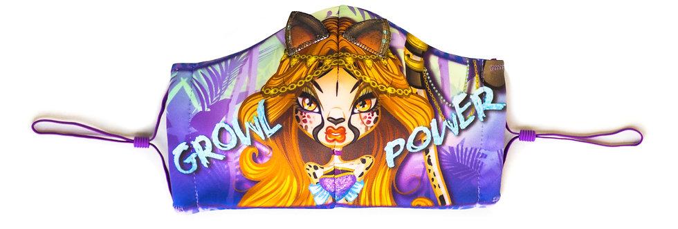 "Wild-Childz™ ""Growl Power"" Face Mask"