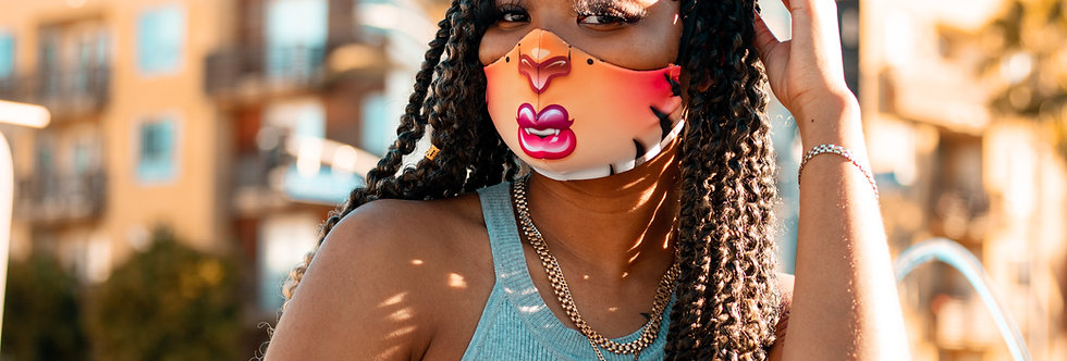 Wild-Childz™ Tajah™ 3D Ear Face Mask