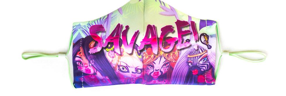 "Wild-Childz™ ""SAVAGE!"" Face Mask"