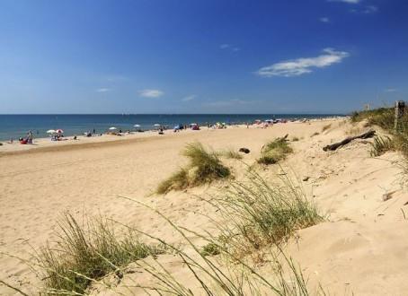 Lekker bakken op het strand