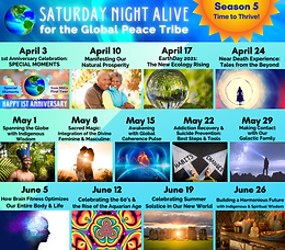 Saturday Night Alive for the Global Peace Tribe