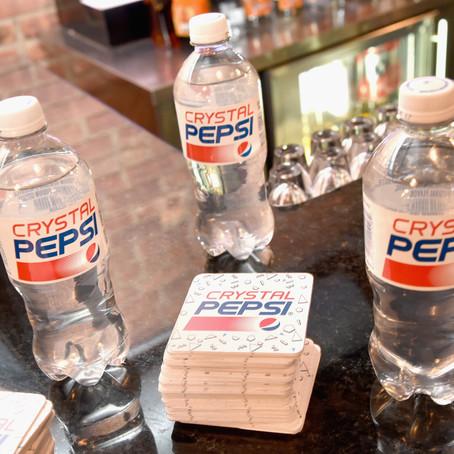 Campaign Fail: Crystal Pepsi