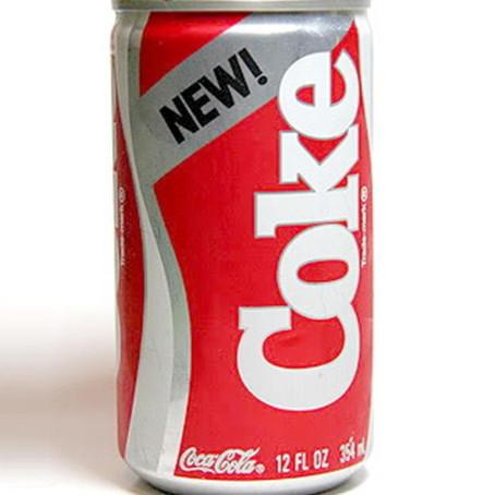 Market Research Fail: New Coke campaign