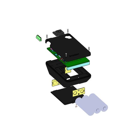 3A battery case