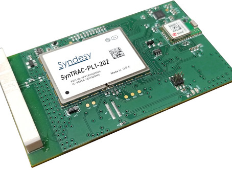 Syndesy Technologies Launches Smallest Certified LTE Cat 1 Tracker