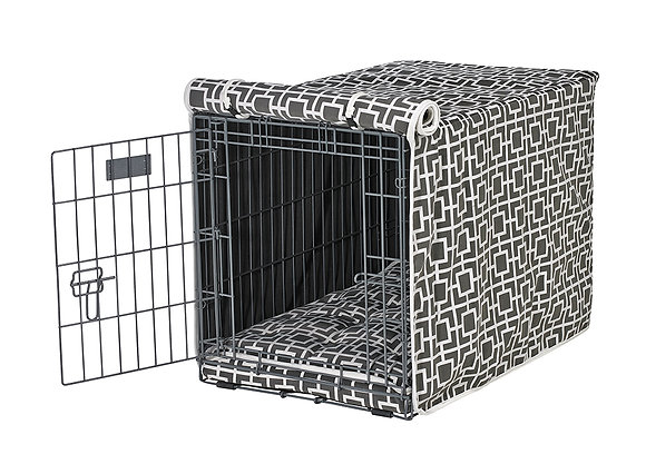 Courtyard Grey Crate Cover