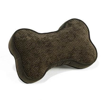 Chocolate Bones Pillow