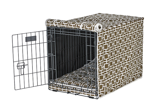 Courtyard Taupe Crate Cover