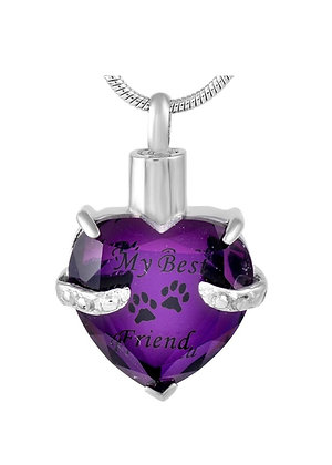 My Best Friend Memorial Necklace