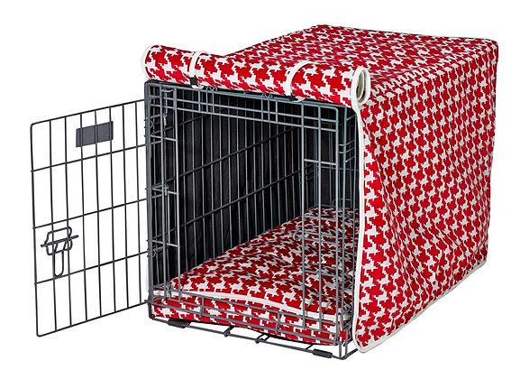 Canterbury Check Crate Cover