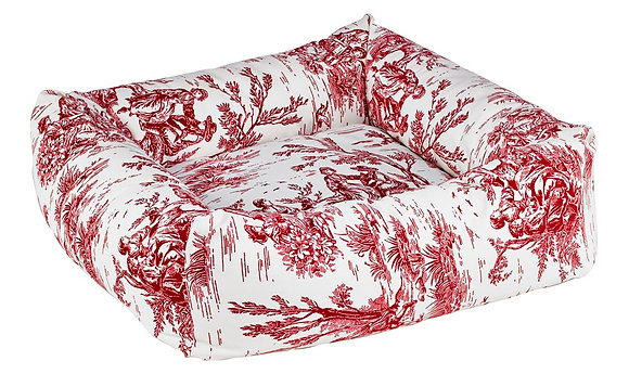 Dutchie Raspberry Toile
