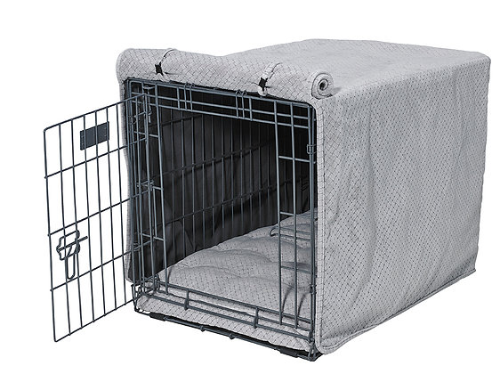 Nickel Weave Crate Cover