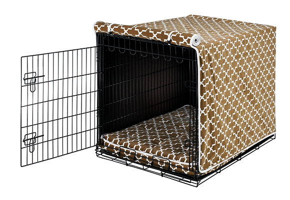 Cedar Lattice Crate Cover